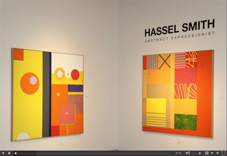 HASSEL SMITH: ABSTRACT EXPRESSIONIST title=