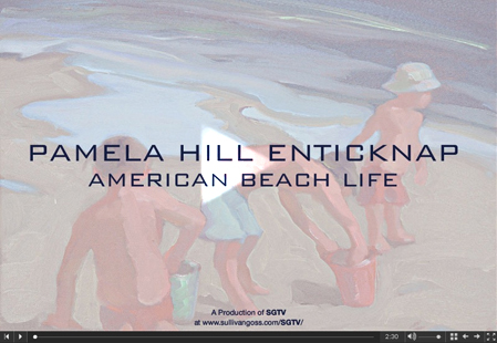 "Click here to watch the video for ""Pamela Hill Enticknap: American Beach Life"""